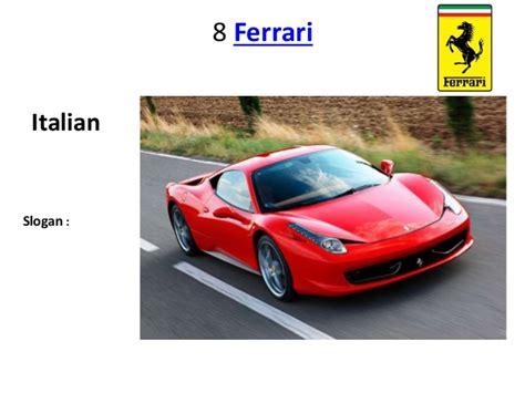 top ten luxury car brands