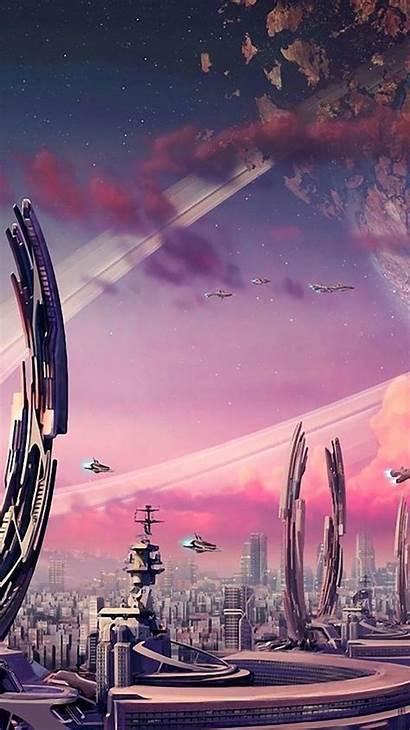 Futuristic Iphone Future Space Wallpapers Freebies Ipad
