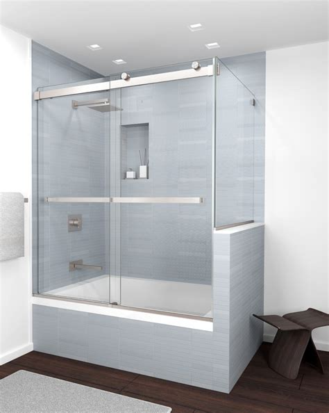 New Shower Door by New Product Equalis Series Frameless Sliding Bypass