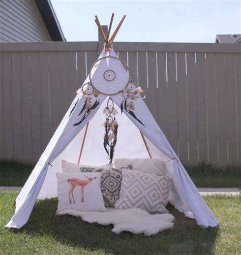 chambre petit fille comment fabriquer un tipi 60 idées pour une tente