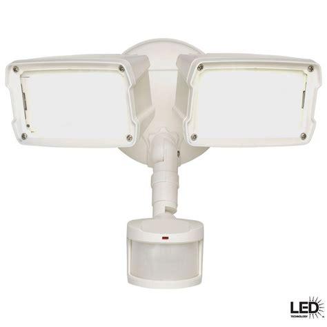 exterior flood lights motion sensor defiant 180 degree white motion activated sensor outdoor