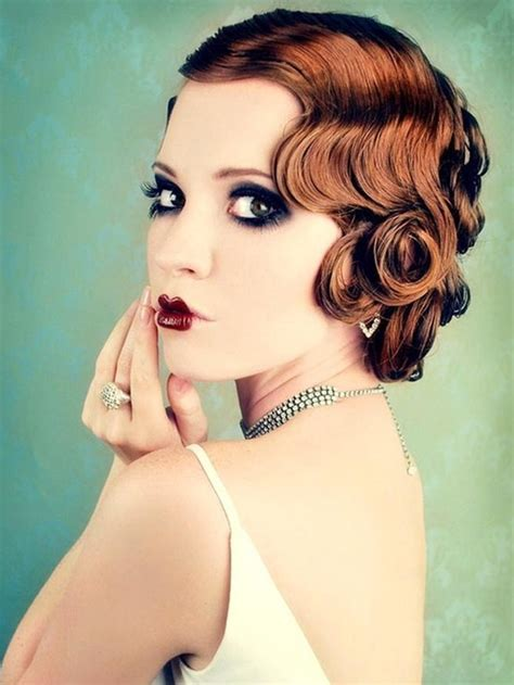 1920 S Pin Up Hairstyles by Stylenoted 1920s Hair