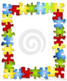 Free Puzzle Pieces Clip Art Frames