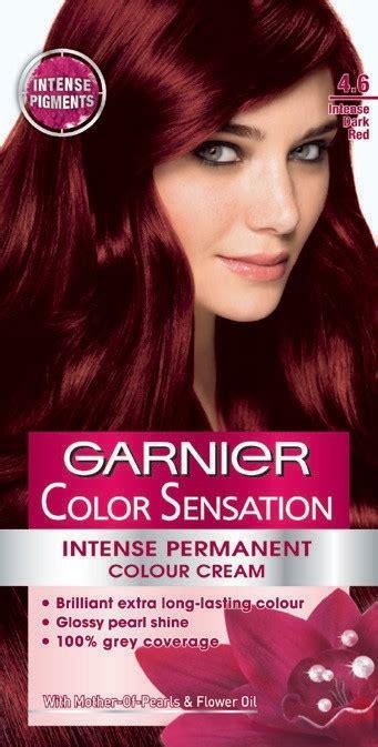 buy garnier color sensation  intense dark red