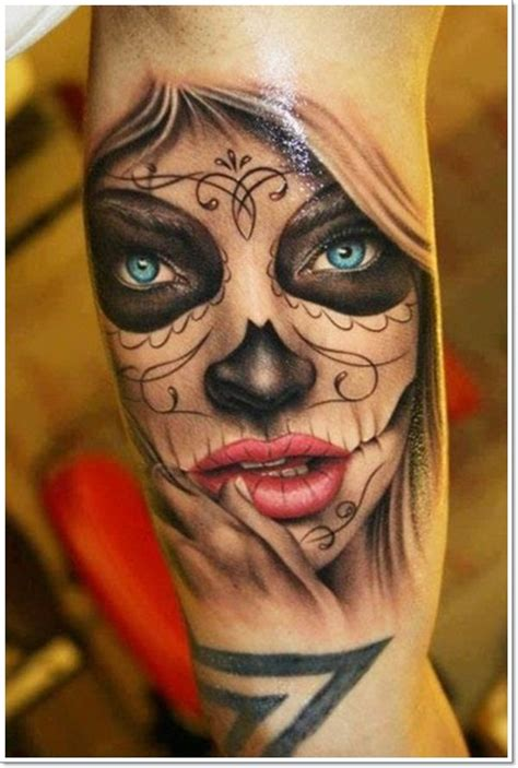 dramatic mexican tattoos     dark world