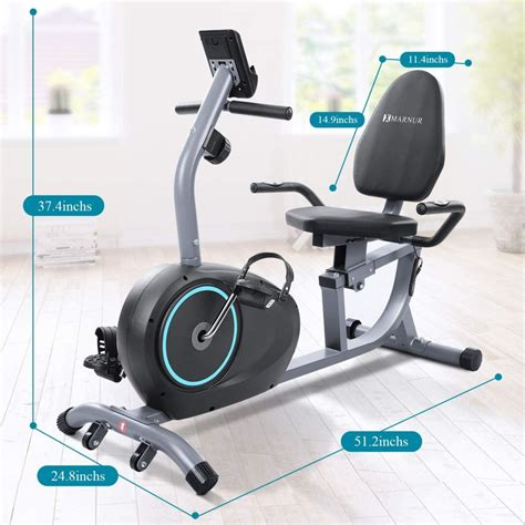 Marnur Recumbent Exercise Bike | How To Build That Body