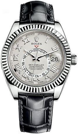 326139-IVRRL Rolex Sky-Dweller White Gold Watch