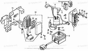 Honda Motorcycle 1976 Oem Parts Diagram For Fuse Box