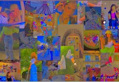Indie Laptop Wallpapers Aesthetic Kid Desktop Collage