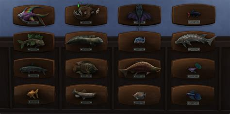 sims  fishing guide fish list rare catches