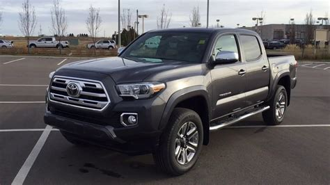 toyota tacoma limited review youtube