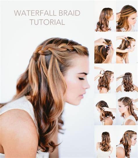 foto tutoriales de diferentes peinados de trenzados