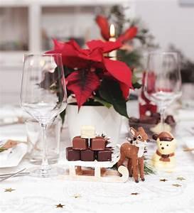 Tischdeko Rot Weiß : puppenzimmer schokoladige tischdekoration zu weihnachten ~ Indierocktalk.com Haus und Dekorationen