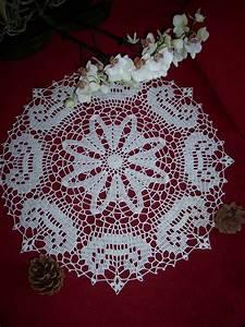 Set De Table Au Crochet : napperon rond au crochet mod le unique 4 accessoires de maison par les anges geek id es ~ Melissatoandfro.com Idées de Décoration