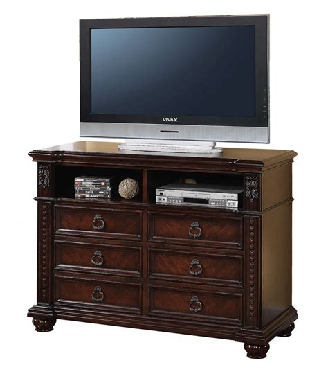 Daruka Dark Cherry Traditional 6drawer Media Dresser. L Shaped Desk Dimensions. Six Drawer Dresser. Duties Of A Front Desk Personnel. White Plastic Folding Table. Microwave Drawer Sharp. Tall End Table With Drawers. Pub Table And Stools. Fletcher Capstan Table