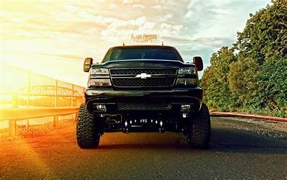 Jacked Trucks Ford Lifted Chevy Wallpapers Wallpapersafari