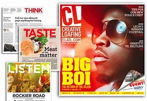 Creative Loafing redesign: A new START | Design With Reason