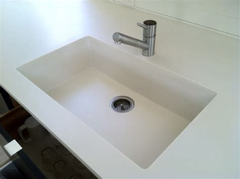 Bathroom Sink Materials Pros And Cons by Corian Integrated Sink Countertops Pros Cons