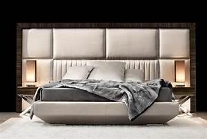 Designer upholstered beds, contemporary headboards for