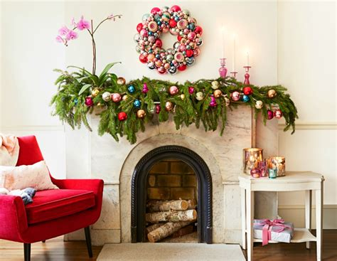 Diy- Christmas Mantel Decorating Ideas • The Budget Decorator