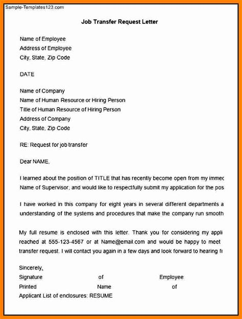 letter to manager for transfer 18 images it trainer cv