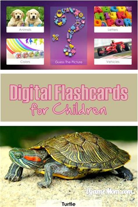 Digital Flashcards For Kids  Toddlers Learn Igamemom