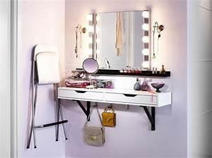 Coiffeuse Pour Chambre : un coin beaut pour tre la plus belle elle d coration ~ Teatrodelosmanantiales.com Idées de Décoration