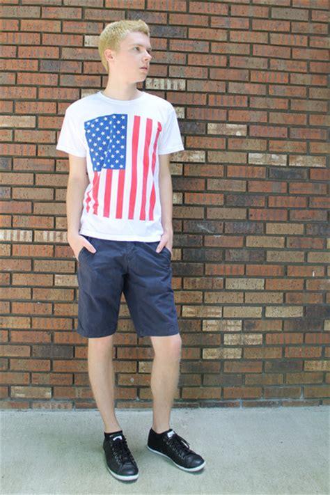 mens white american apparel shirts black converse shoes