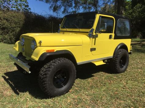 cj jeep yellow rust free 1984 cj 7 quot nevada quot jeep hardtop with doors