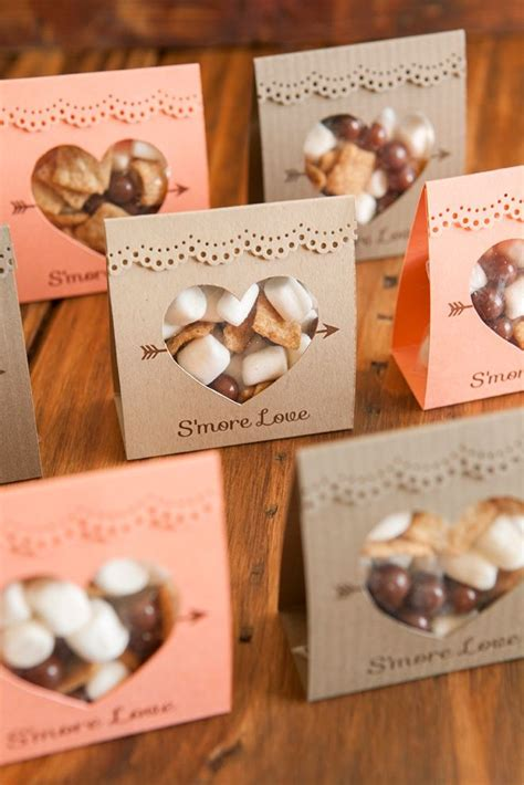 How to make these adorable S'more Love wedding favors ...