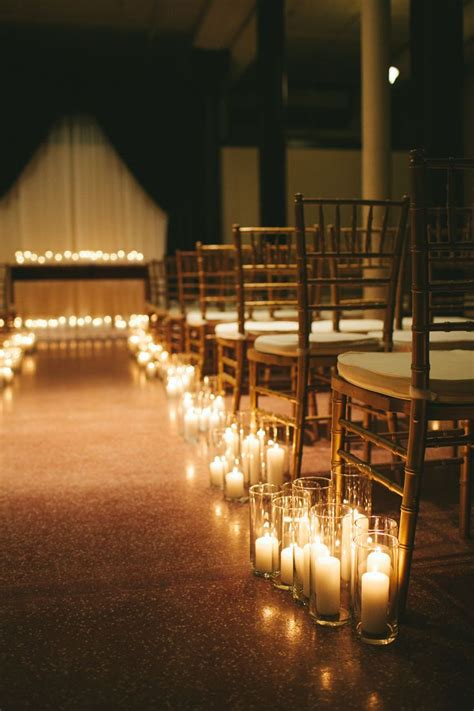 25 best wedding aisle candles ideas on