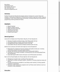 cover letter for gym receptionist job gym zen With cover letter for gym receptionist job