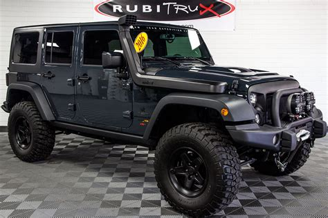 jeep wrangler custom 2016 jeep wrangler rubicon unlimited aev jk 350 conversion