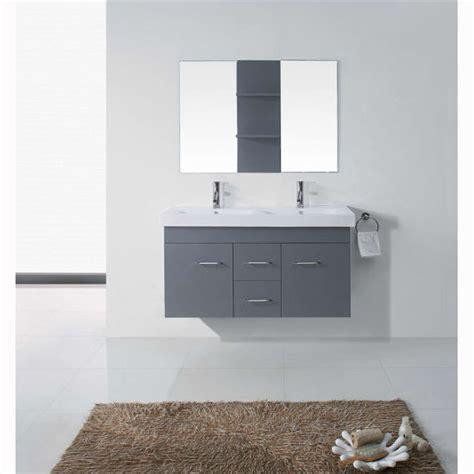 unpainted kitchen cabinets bath vanities opal complete wall mounted bath 3067