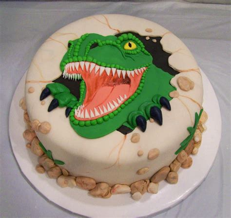 dinosaur cake template cake ideas  designs