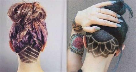 tendencias cabello  los tatuajes undercut fotos ella hoy