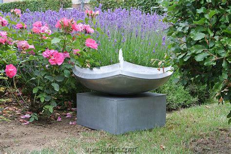 fontaine basse lucca zinc autonome en circuit ferme