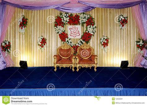 simple wedding stage decoration  flowers  wedding
