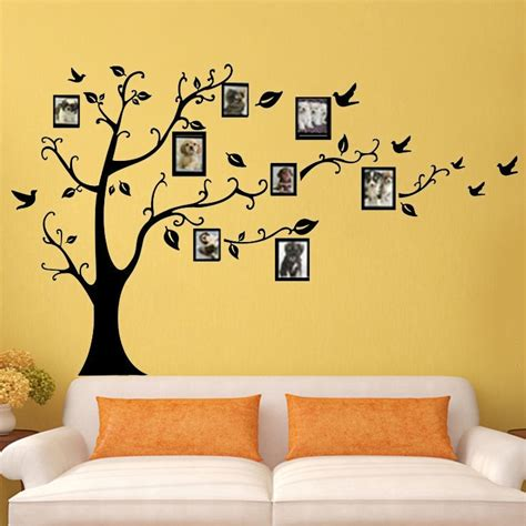 photo frame tree wall stickers quotes wall arts home