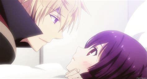 Anime Kiss Gif Cute Cute Anime Kiss Gif Tumblr