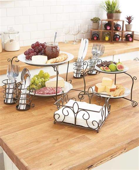 ultimate flatware buffet storage organizer set napkin plates utensil holders ebay
