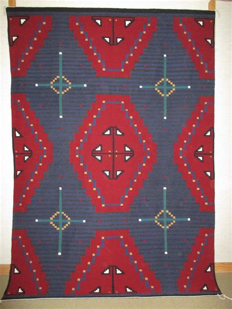 Navajo Indian Rugs by Chief Revival Blanket Navajo Rug By Wilbertson Begay