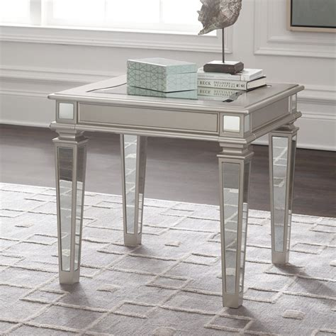 Accent your living room with a coffee, console, sofa or end table. TESSANI SILVER GLASS COFFEE TABLE AND END TABLE SET SIGNATURE DESIGN BY ASHLEY PRODUCT ...