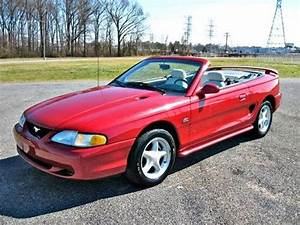 Purchase used 95 mustang gt convertible 5.0l v8 auto leather low miles in Memphis, Tennessee ...