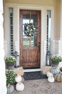 front door decorating ideas 40 Amazing ways to decorate your front door with fall style