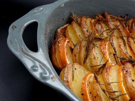 pommes de terre grillées au citron et au thym israël