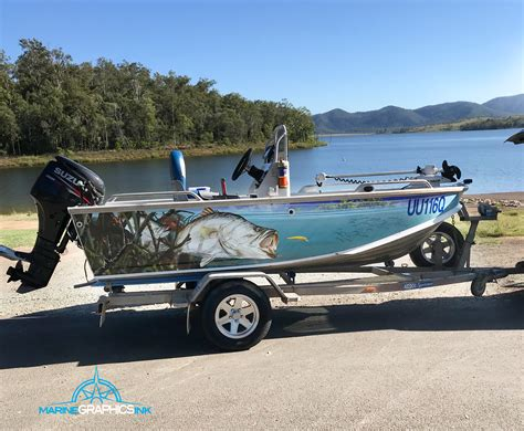 Marine Wrap Boat Graphics by Boat Wrap Gallery Marine Graphics Ink