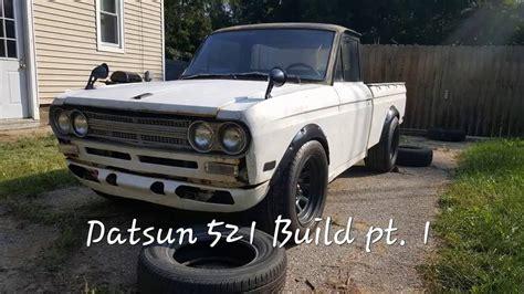 Datsun Drift by Rb25 Datsun 521 Drift Build Pt 1 Carbonfiber