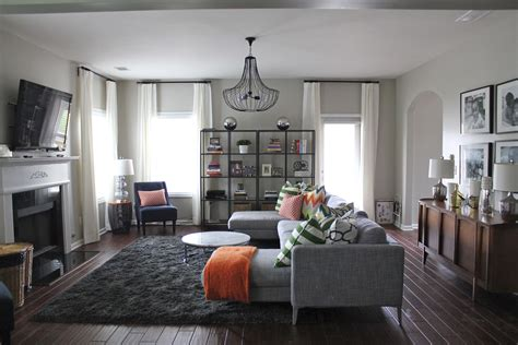 Before & After Modern Family Room (+ My Design Tips