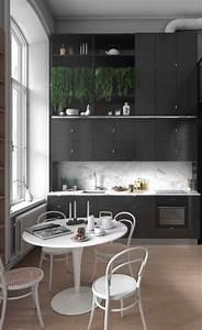 Küchentisch Kleine Küche : ber 50 elegante designideen mit einem kleinen k chentisch kleine k che k che tisch und k che ~ Watch28wear.com Haus und Dekorationen